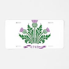 Unique Scotland Aluminum License Plate