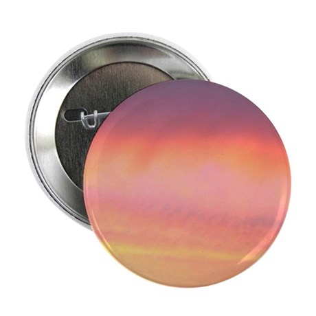 """Pink Pretty Sky 2.25"""" Button (100 pack)"""