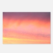 Pink Pretty Sky Postcards (Package of 8)
