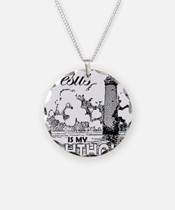 JESUS IS MY LIGHTHOUSE Necklace
