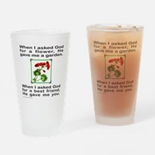 GOD GAVE ME YOU Drinking Glass