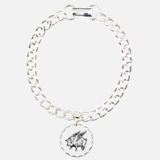 WHEN PIGS FLY Charm Bracelet, One Charm