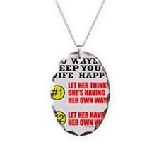 KEEP YOUR WIFE HAPPY Necklace