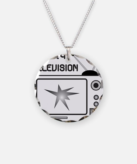 REALITY TV Necklace Circle Charm