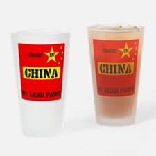 LEAD PAINT Drinking Glass