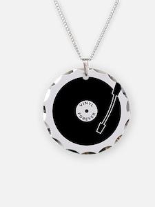 VINYL RECORD Necklace