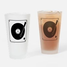 VINYL RECORD Drinking Glass