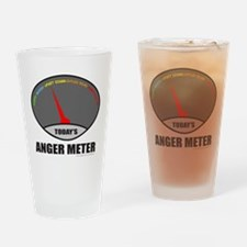 ANGER METER Drinking Glass