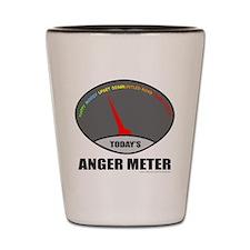 ANGER METER Shot Glass