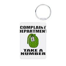 COMPLAINT DEPARTMENT Keychains
