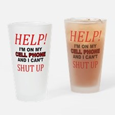 CELL PHONE Drinking Glass
