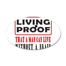 LIVING PROOF 22x14 Oval Wall Peel