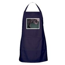 Napping Cat Apron (dark)