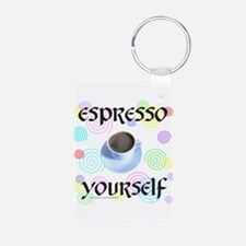 ESPRESSO YOURSELF Keychains