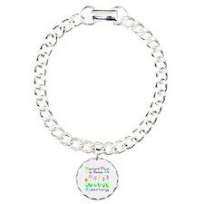 Cute Elementary Charm Bracelet, One Charm