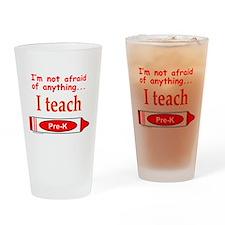 TEACH PRE-K Drinking Glass
