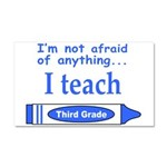 THIRD GRADE Car Magnet 20 x 12