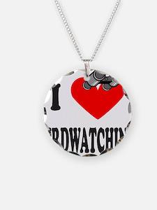 I HEART BIRDWATCHING Necklace