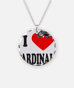 I HEART CARDINALS Necklace