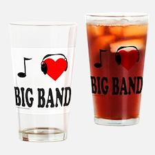 BIG BAND MUSIC Drinking Glass