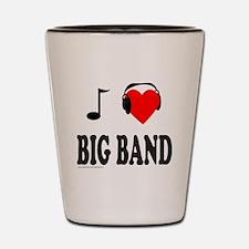 BIG BAND MUSIC Shot Glass