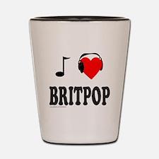BRITPOP Shot Glass