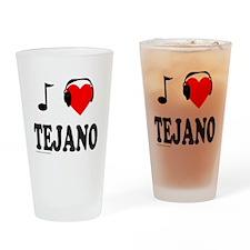 TEJANO MUSIC Drinking Glass
