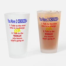 WORK/JOB HUMOR Drinking Glass