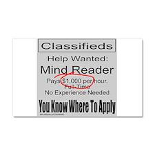 MIND READER Car Magnet 20 x 12