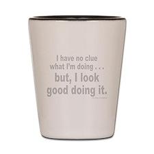 NO CLUE Shot Glass