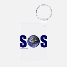 SOS EARTH Keychains