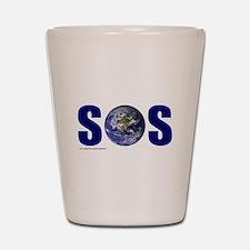 SOS EARTH Shot Glass