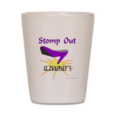 ALZHIEMER'S Shot Glass