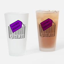 ALZHEIMER CAUSE Drinking Glass