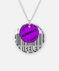 Cute Alzheimers disease support Necklace