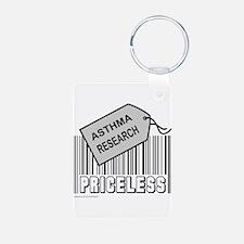 ASTHMA CAUSE Aluminum Photo Keychain