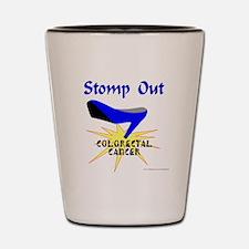 COLORECTAL CANCER Shot Glass