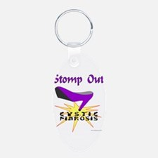 Funny Cystic fibrosis awareness Keychains