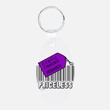 CYSTIC FIBROSIS CAUSE Keychains