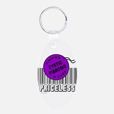 Cute Cystic fibrosis awareness Keychains