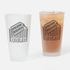 DYSLEXIA CAUSE Drinking Glass