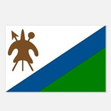 Flag of Lesotho Postcards (Package of 8)