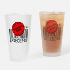 Cute Abuse Drinking Glass