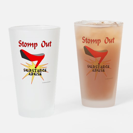 Unique Awareness Drinking Glass