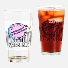 Unique Sudden infant death Drinking Glass