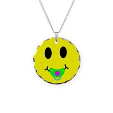 SMILEY FACE PACIFIER Necklace