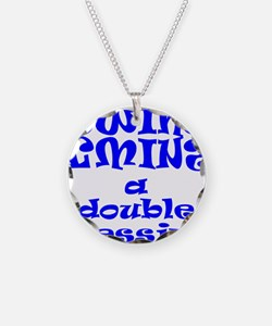 TWINS A DOUBLE BLESSING Necklace