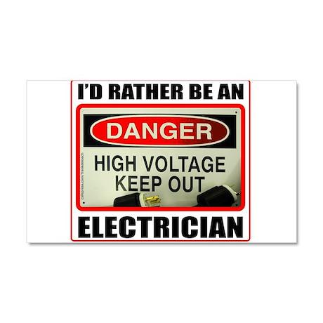 ELECTRICIAN Car Magnet 20 x 12