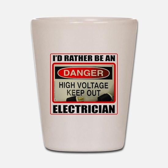 ELECTRICIAN Shot Glass