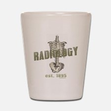 RADIOLOGY Shot Glass